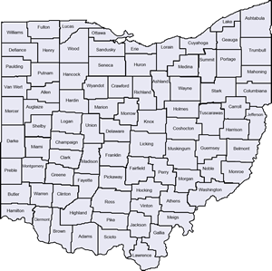 FCFC County Map